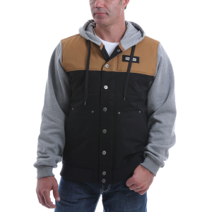 Men's  Canvas Hoodie Jacket