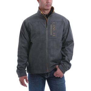 Men's  Charcoal Bonded Jacket