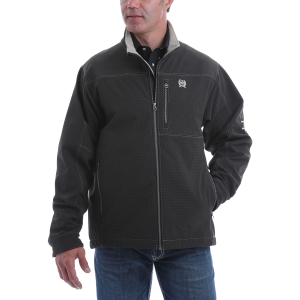 Men's  Textured Bonded Conceal Carry Jacket