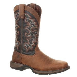 "Men's  12"" Rebel Pull-On Western Boot"