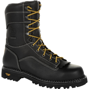 "Men's  9"" AMP LT Low Heel Waterproof Work Boot"