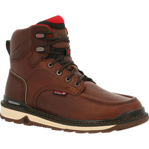 Men's  Rams Horn Waterproof Work Wedge Boot