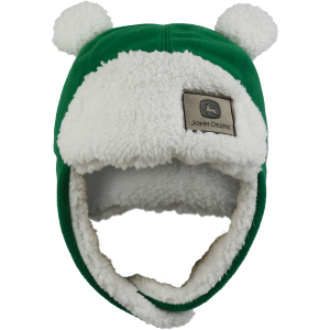 Girls'  Toddler Fuzzy Ear Flap Hat