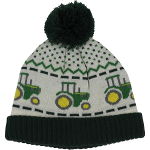 Boys'  Toddler Tractor Fair Isle Knit Hat