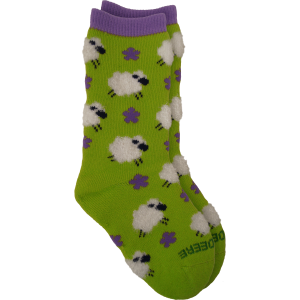 Kids'  Infant/Toddler Feathered Sheep Crew Sock