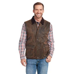 Men's  Enzyme Washed Concealed Carry Vest