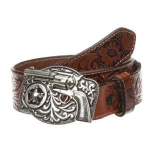 Boys'  Revolver Tooled Belt