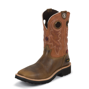 "Men's  11"" 3R Composition Safety Toe Boot"