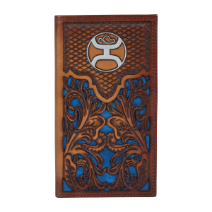 Men's  Blue Inlay Signature Rodeo Wallet