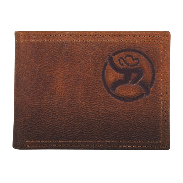 Leather Roughy Bi-Fold Wallet