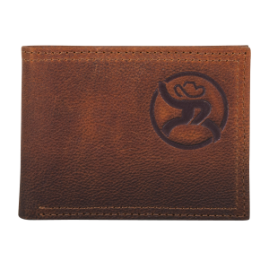 Men's  Leather Roughy Bi-Fold Wallet