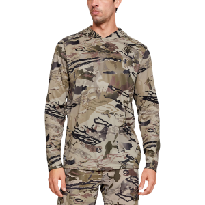 Men's  UA Iso-Chill Brush Line Hooded Shirt