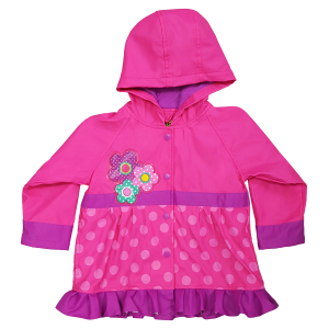Girls'  Toddler Flower Cutie Raincoat