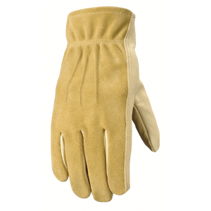 Women's  Grain Cowhide Unlined Leather Glove