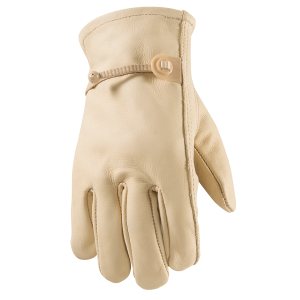 Men's  Grain Cowhide Unlined Glove