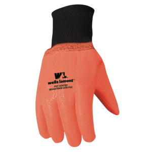 Men's  Cold Weather Hi-Viz PVC Glove