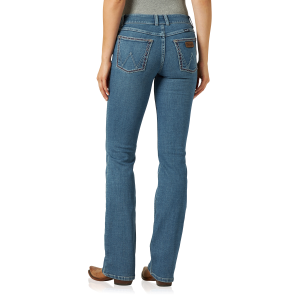 Women's  Retro Mae Boot Cut Jean - Jade