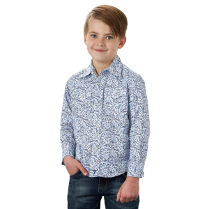 Boys'  20X Competition Advanced Comfort Floral Print Short Sleeve Button Down Shirt