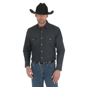 Men's  Advanced Comfort Denim Work Shirt