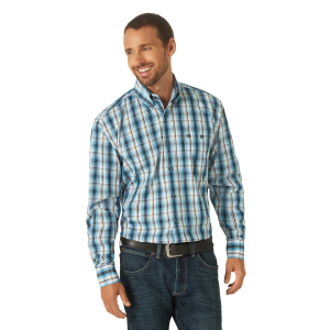 Men's  Classics Long Sleeve Plaid Shirt