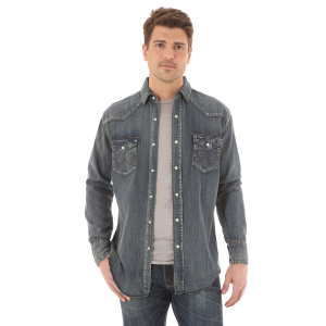 Men's  Authentic Cowboy Cut Work Shirt