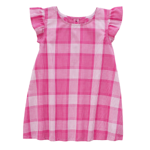 Girls'  Toddler Ruffle Dress with Diaper Cover