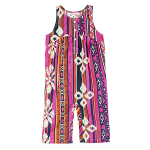 Girls'  Infant Aztec Print Sleeveless Romper
