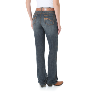 Women's  Aura Instantly Slimming Jean-Autumn Gold