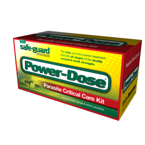 Power Dose Parasite Equine Dewormer Care Kit