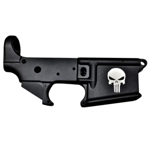 AR-15-A3 .223/5.56 Lower Receiver - Punisher Logo