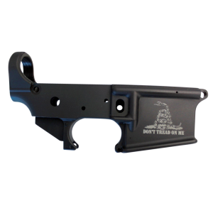 AR-15-A3 .223/5.56 Lower Receiver - Don't Tread on Me