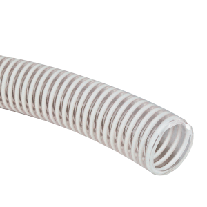 PVC Clear Suction Hose - Sold by the Foot