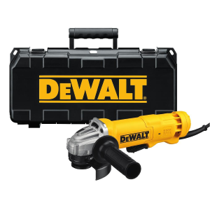 "4-1/2"" (115mm) Small Angle Grinder Kit DWE402K"