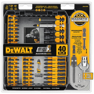40 Piece Impact Ready Screwdriving Set DWA2T40IR