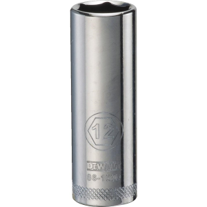 "1/4"" Drive 6-Point Deep Socket - Metric"