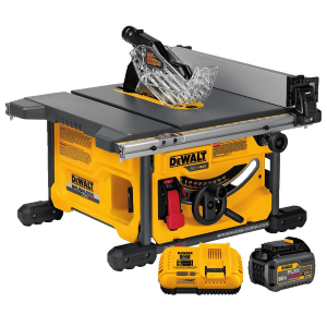 FLEXVOLT 60V MAX* Table Saw Kit w/1 Battery DCS7485T1