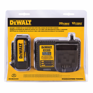 20V MAX Li-Ion Battery and Charger DCB200C