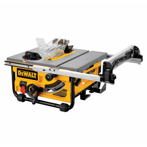 "10"" Compact Job Site Table Saw with Site-Pro Modular Guarding System DW745"