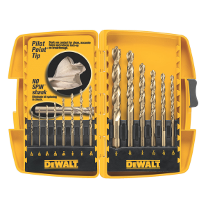 14 Piece Pilot Point® Drill Bit Set DW1169