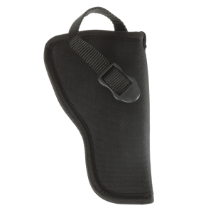 "Nylon Hip Holster for 3-4"" Barrel Med & Large Double Action Revolvers - Right Hand"