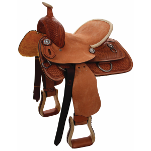 High Back Rancher Youth Saddle