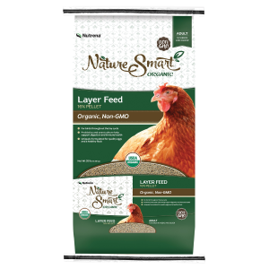 Organic/Non-GMO Layer Poultry Feed - 16% Pellets