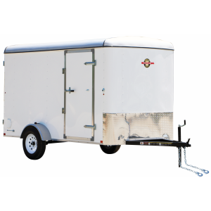 6 x 12 2990 lb GVWR 6' Enclosed Trailer