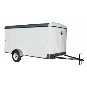 6 x 10 2990 lb GVWR 6' Enclosed Economy Trailer
