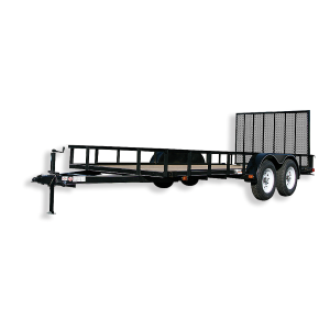 6 x 16 Wood Floor Trailer with Ramp Gate