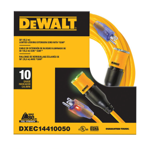50' Locking Extension Cord DXEC14410050