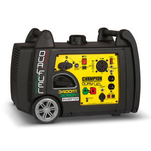 3400-Watt Dual Fuel RV Ready Portable Inverter Generator with Electric Start