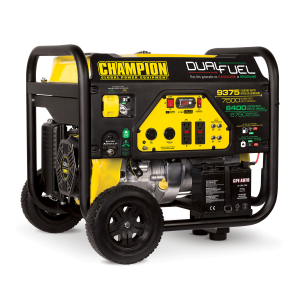 7500-Watt Dual Fuel Portable Generator with Electric Start
