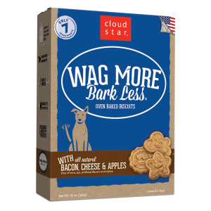 Wag More Bark Less Oven-Baked Bacon, Cheese & Apples Dog Treats