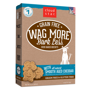 Wag More Bark Less Oven-Baked Smooth Aged Cheddar Treats